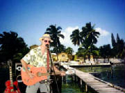 Ron Bertrand... Pirate In Belize.
